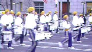AI Dupont High School Marching Band at the 2009 Inauguration in DC.