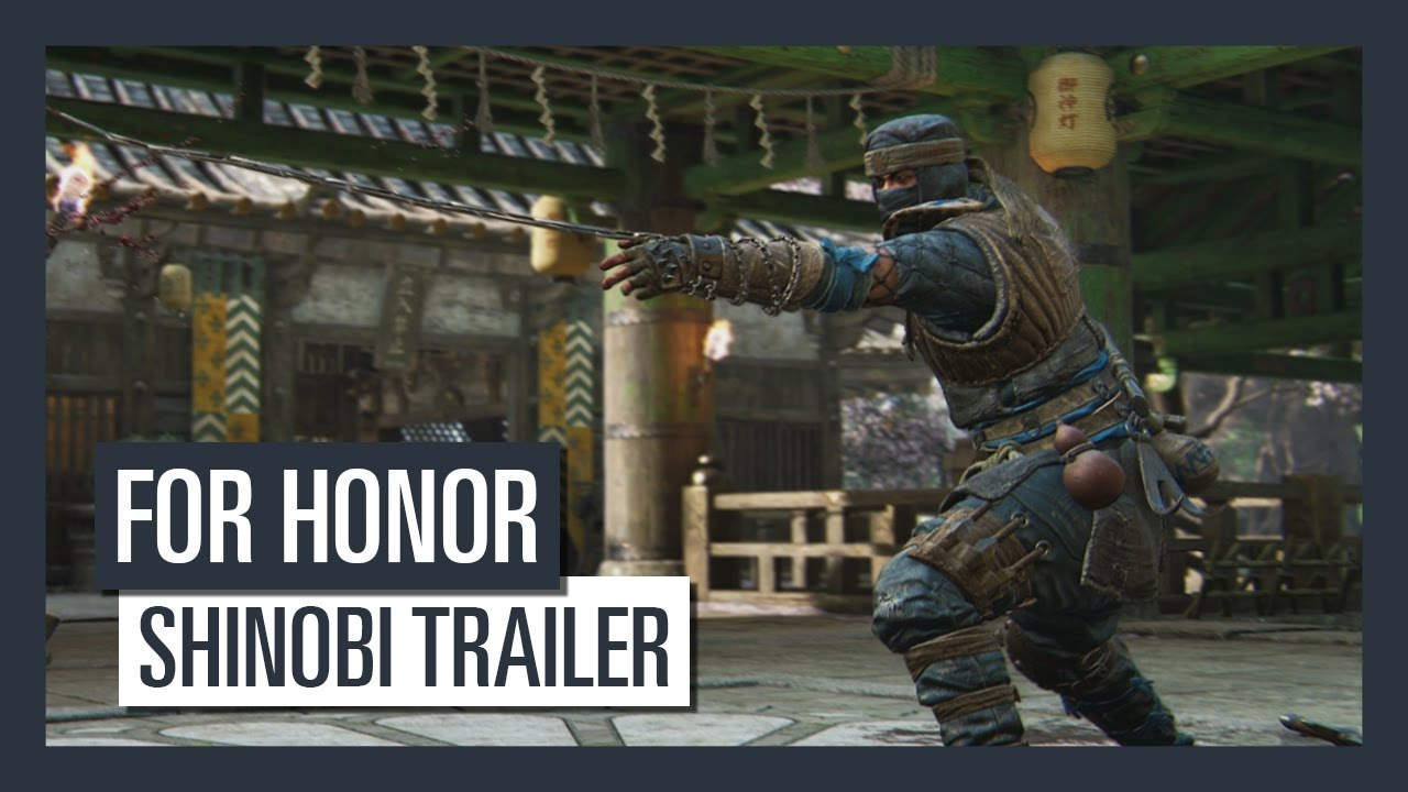for honor shadow might shinobi trailer youtube. Black Bedroom Furniture Sets. Home Design Ideas