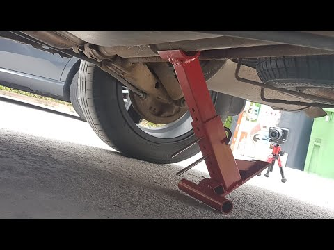 How to Make Brilliant CAR JACK stand