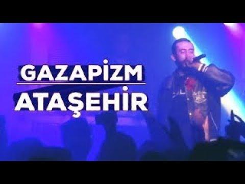 Gazapizm heyecanı yok konserinde- gazapizm düştü yakaladim ataşehir 01:28:2018