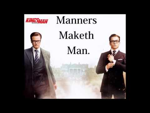 Manners Make Man Essay