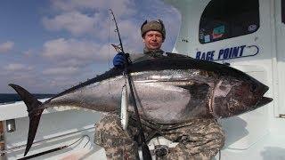Ловля тунца в Северной Каролине.