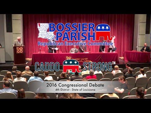 2016-08-16 Louisiana 4th Congressional District US Representative Debate