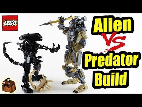 Alien Vs Predator LEGO Custom Big Figs MOC