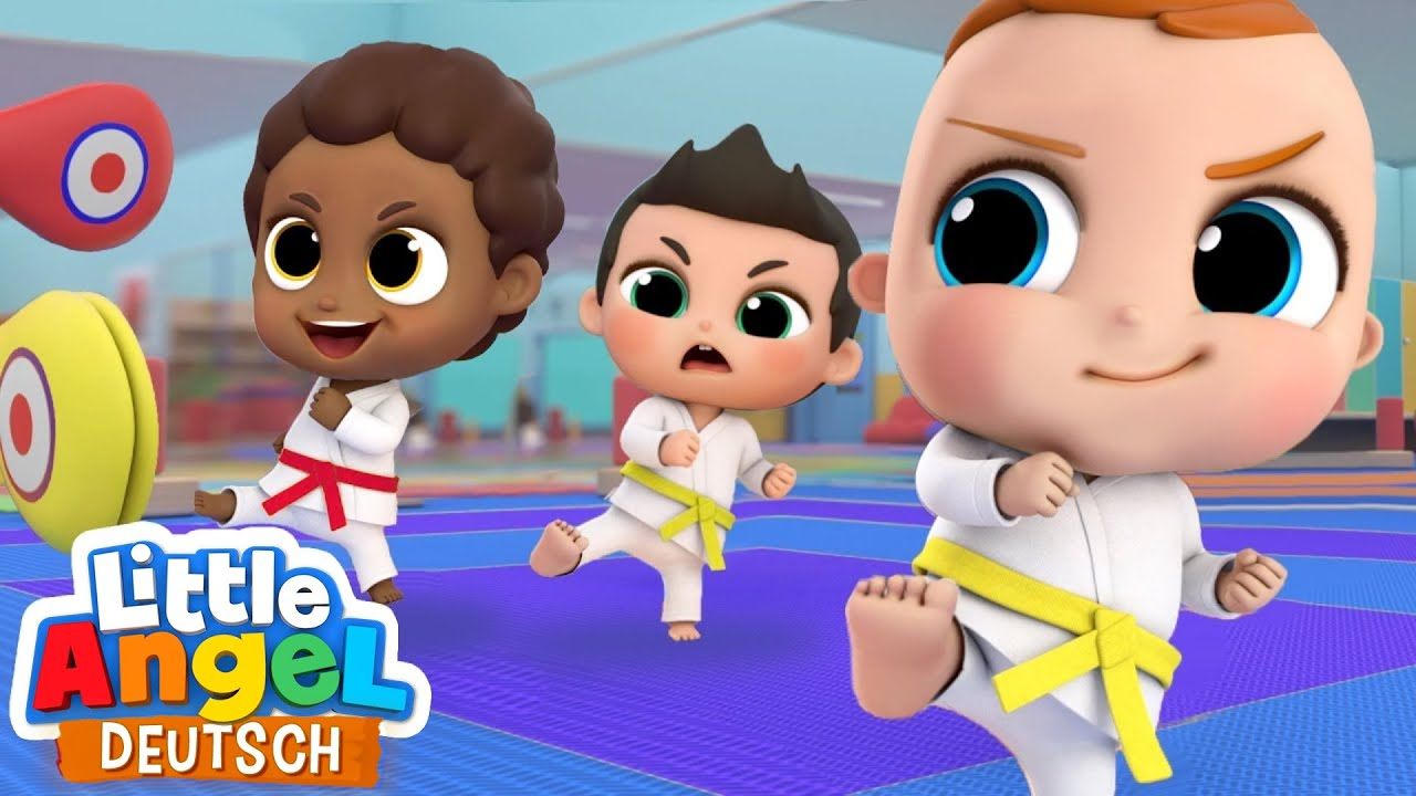 Spaß beim Karate | Sport für Kinder | Little Angel Deutsch