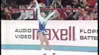 伊藤みどり 伝説のFS(1989年世界フィギュアスケート選手権) Midori Ito.wmv