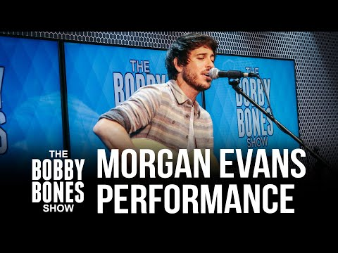 """Morgan Evans Performs His New Song """"Love Is Real,"""" + """"Kiss Somebody"""" & """"Day Drunk"""""""