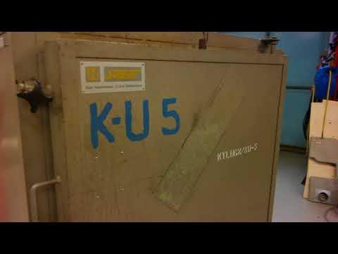 Anlöpningsugn AU-296 - 2 industrial ovens AB
