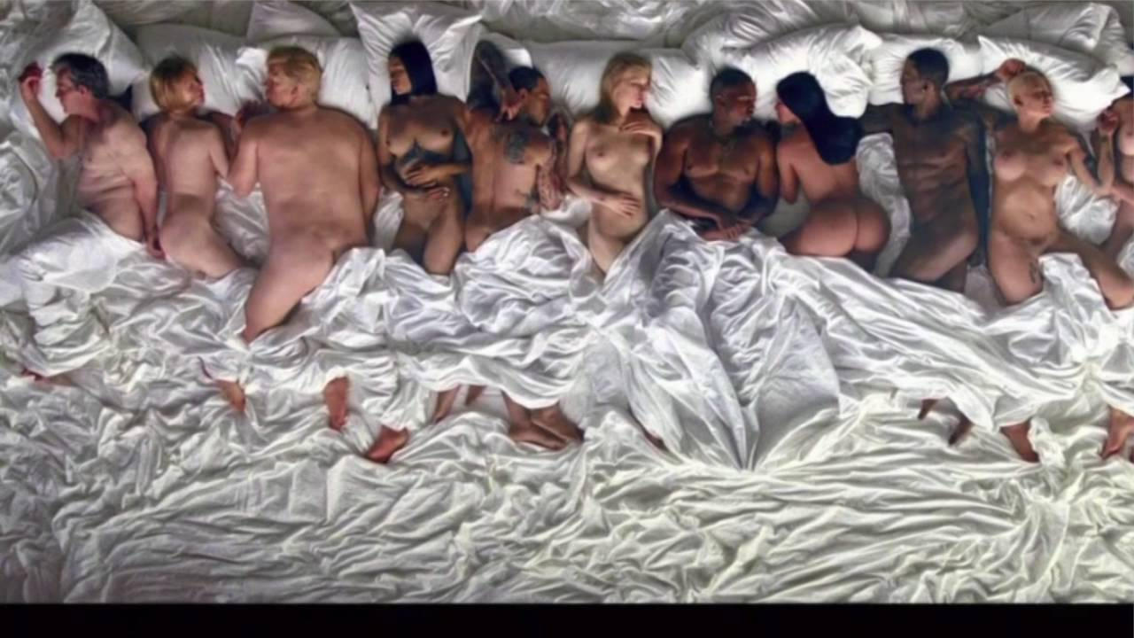 Kanye West Naked Music Video