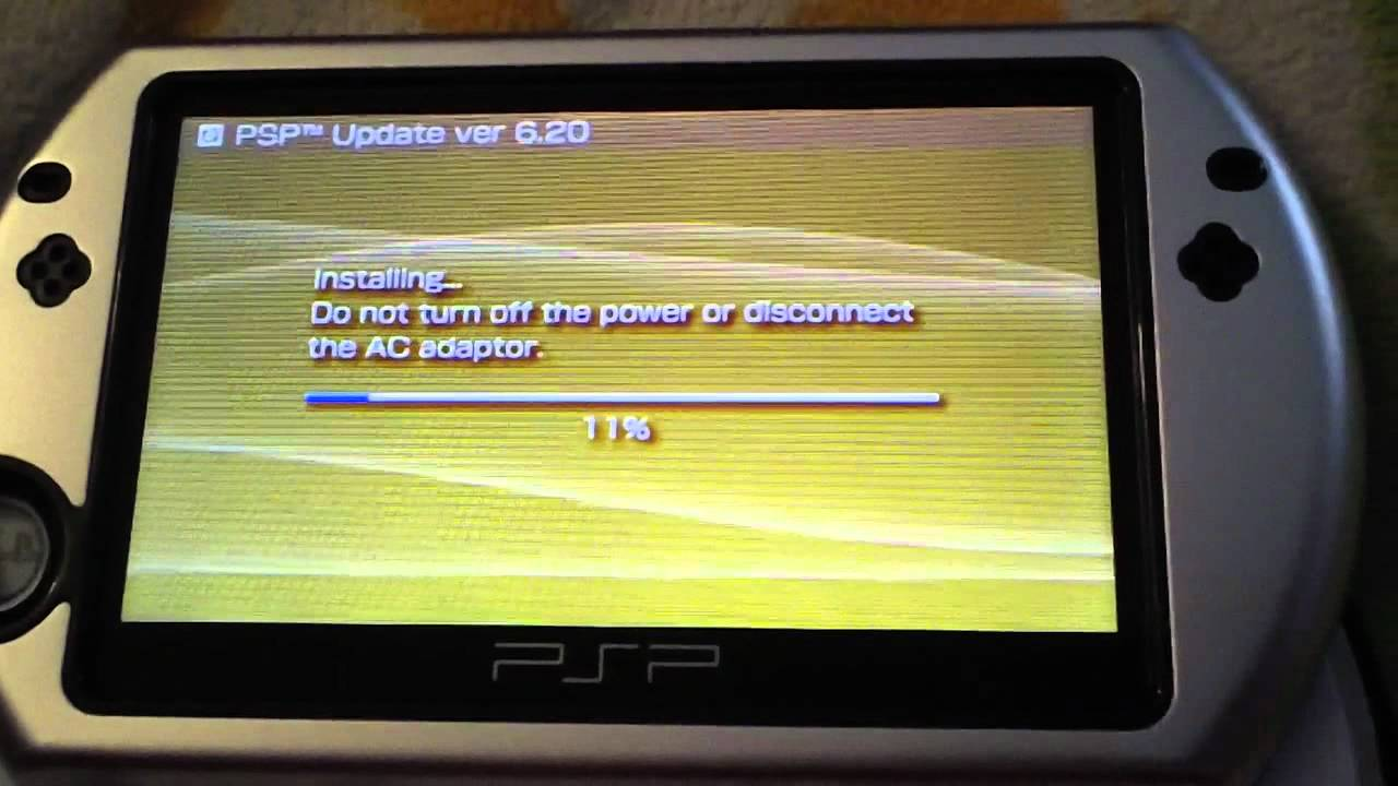 downgrade psp 6.60 to 6.20