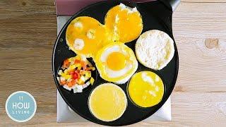 【百變蛋料理】歐姆蛋 荷包蛋 烘蛋 蔬菜烘蛋 起司蛋捲 Egg Dishes │HowLiving美味生活