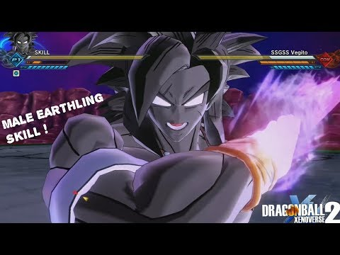 Best Xenoverse 2 Player In The World ! Male Earthling POWER !