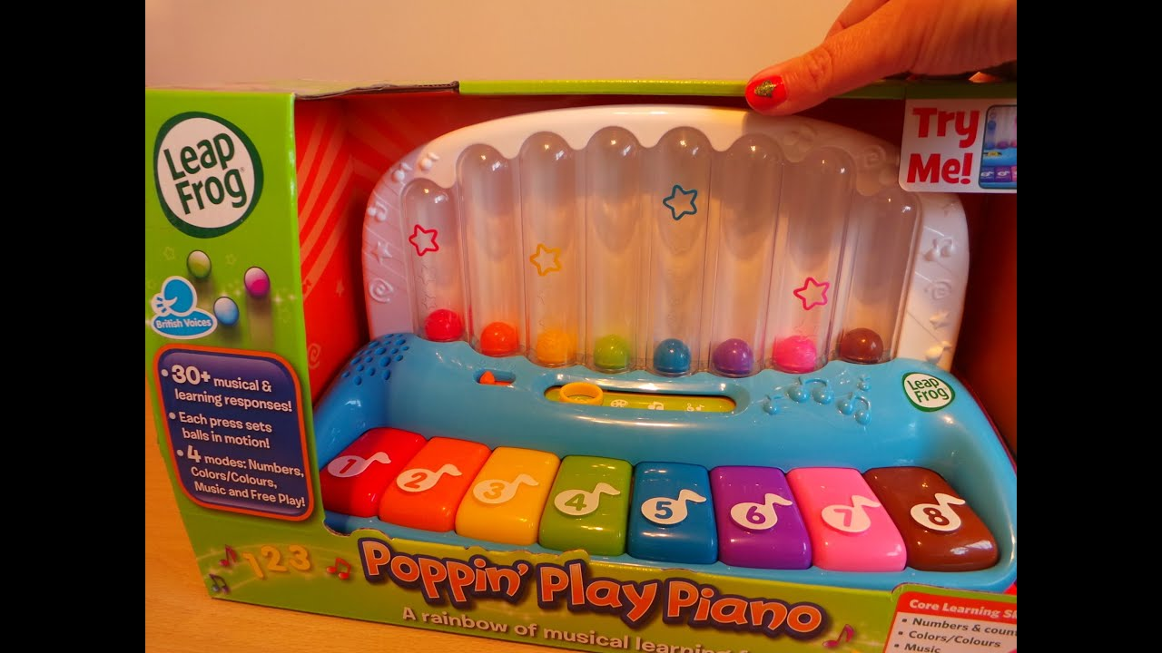kids learning toys - LeapFrog Popping Play Piano - YouTube