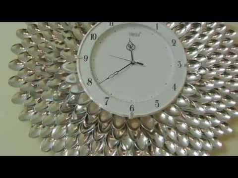 DIY Designer Wall Clock/Wall decor & Art
