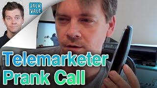 Telemarketer Prank Call