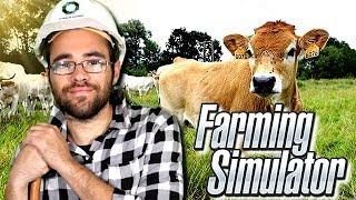 LA FERME SE REBELLE  ! farming simulator 17