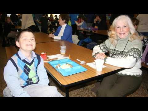 Schuylerville Elementary School's Grandparents' Breakfast