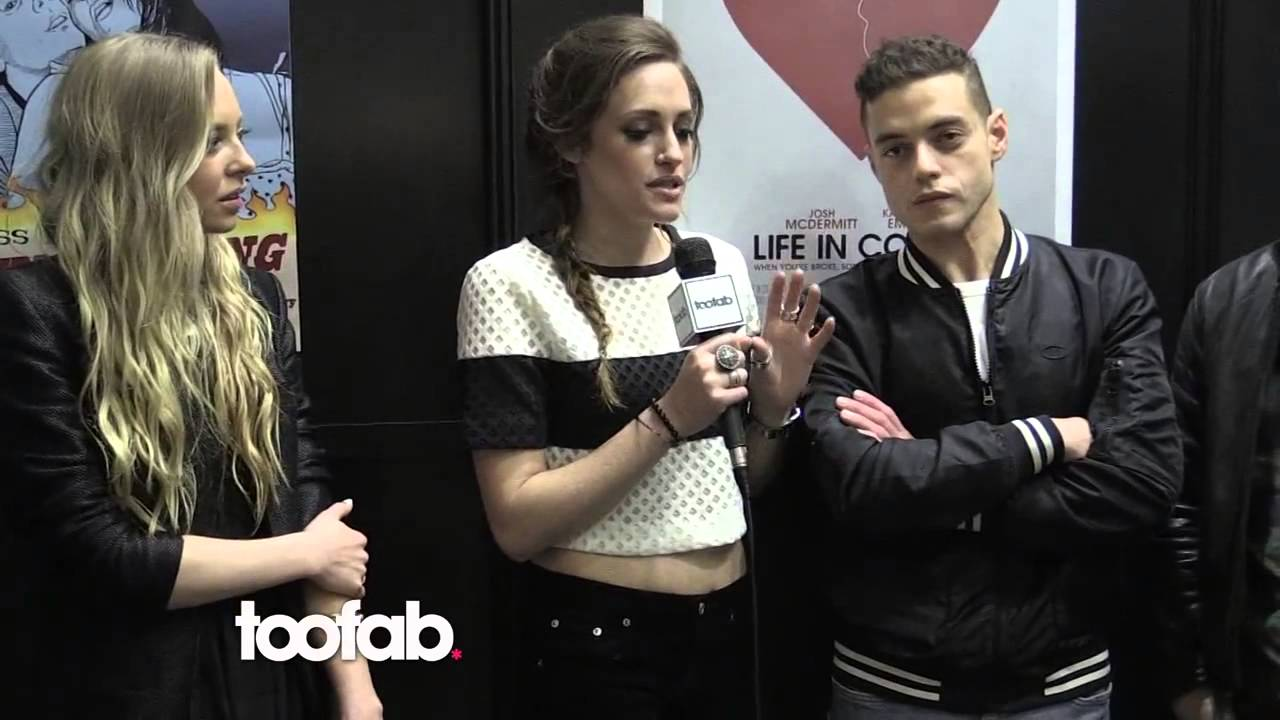 Rami Malek Mr Robot Cast Interview With Toofab At Sxsw Festival Youtube