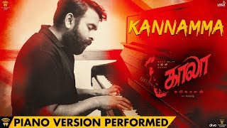 Kannamma Piano Version Performed by Santhosh Narayanan | Kaala | Rajinikanth | Pa Ranjith