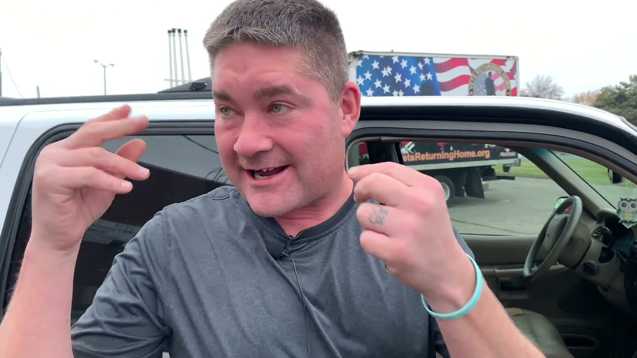 Vets Returning Home Giving Away a Car to a Disabled Combat Veteran