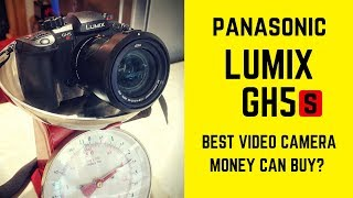 How heavy is the Panasonic LUMIX GH5s?! Camera Review 2018