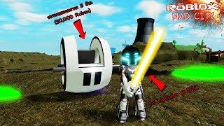 Roblox : Mad City #12 ดาบ lightsaber ระดับ EPIC!! กับรถสุดไฮเทคราคา 5 ล้าน (20,000 Robux)