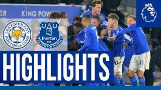 Dramatic Sixth Consecutive Premier League Win | Leicester City 2 Everton 1