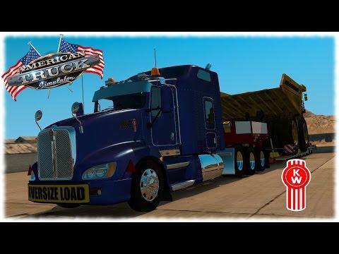 American Truck Simulator - Kenworth T660 Heavy Hauling
