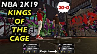 NBA 2K19 KINGS OF THE CAGE PERFECT RECORD