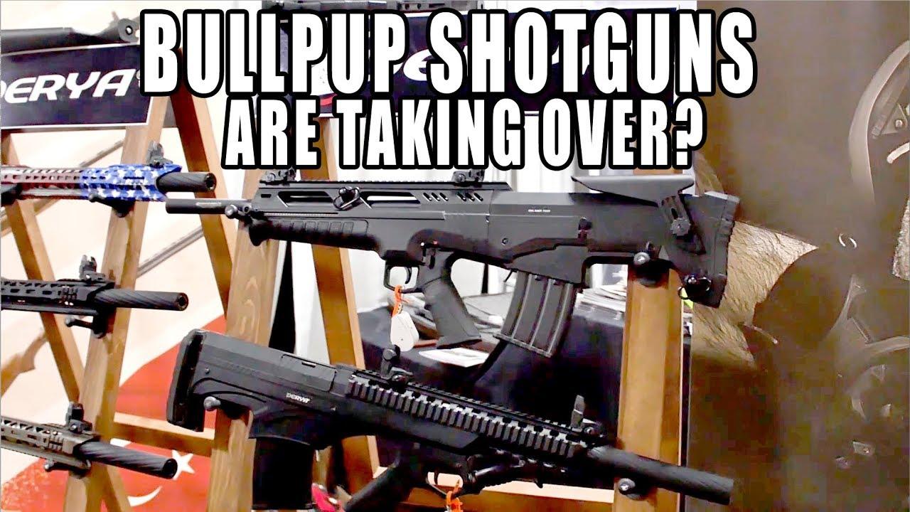 Are BULLPUP SHOTGUNS TAKING OVER ???