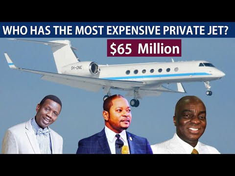 7 Pastors With the Most Expensive Private Jets in Africa