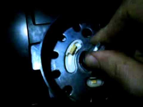 1984 Corvette  locking the telescoping shaft