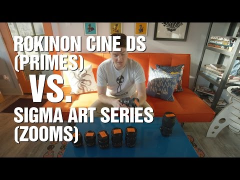 Why I'm Switching from Rokinon Cine DS to Sigma Art Series - Lens Comparison