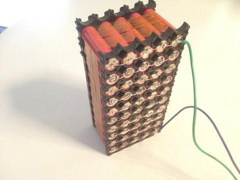 DIY 10AH 36v Lithium E-Bike Battery Pack | From Old Laptop Batteries