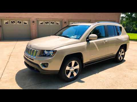 2016 JEEP COMPASS HIGH ALTITUDE LEATHER SUNROOF MOJAVE SAND USED FOR SALE INFO WWW.SUNSETMOTORS.COM