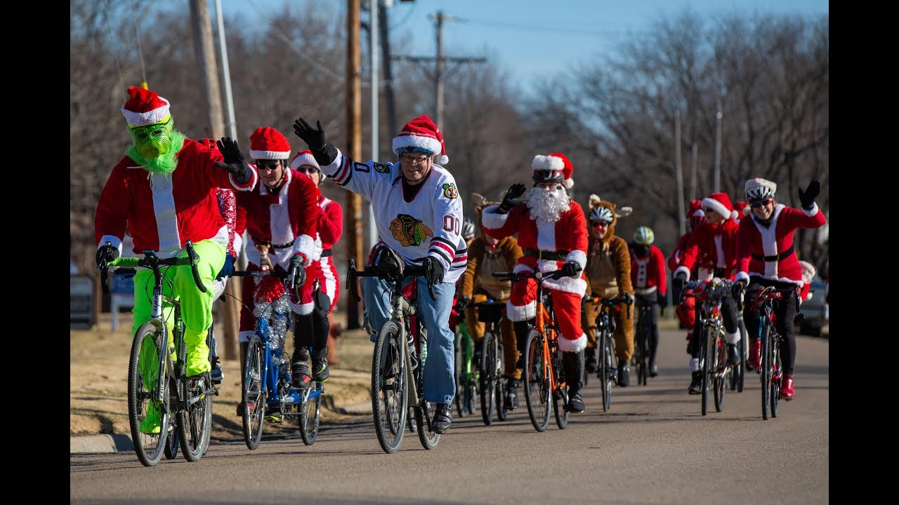 Santa Rampage Ride Through Topeka