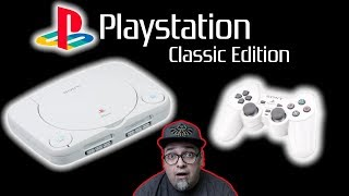 Playstation Classic Edition Is Here! DIY