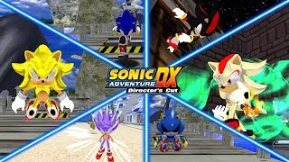 Sonic Adventure DX - Sonic Shadow And Metal Sonic Mod Gameplay Overhaul
