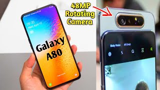 Samsung Galaxy A80 - Review | 48MP auto Rotating triple CAMERA | Specifications & Price | A80