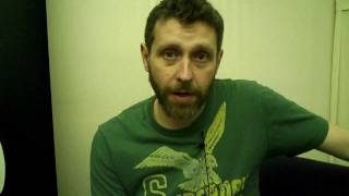 Dave Gorman interview - Cheltenham Literature Festival 2011