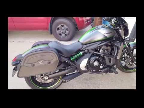Kawasaki Vulcan S Cafe 650 Motorcycle Saddlebags Review