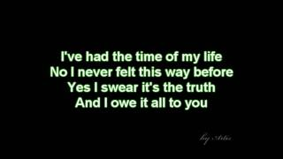 dirty dancing time of my life lyrics