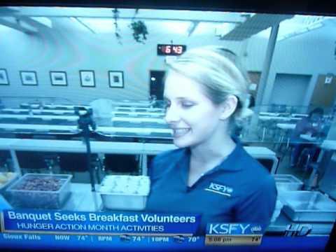 KSFY TV at the Banquet 09/10/13