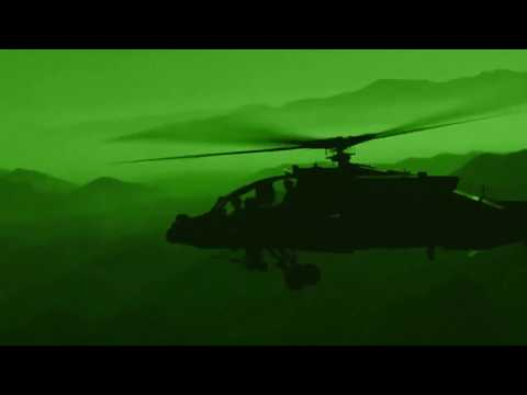 AH-64 Apache night