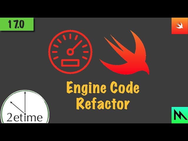 17: Code Cleanup | Swift Game Engine