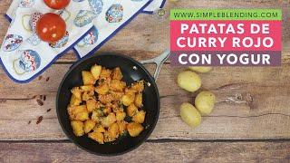PATATAS DE CURRY ROJO CON YOGUR | Patatas con curry | Dieta saludable