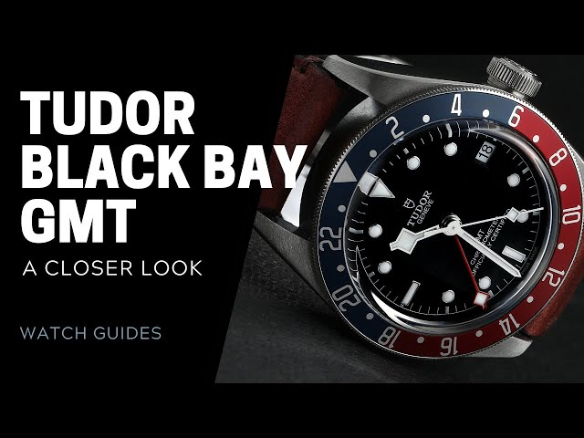 Tudor Black Bay GMT: A Closer Look | SwissWatchExpo [Watch Guide]