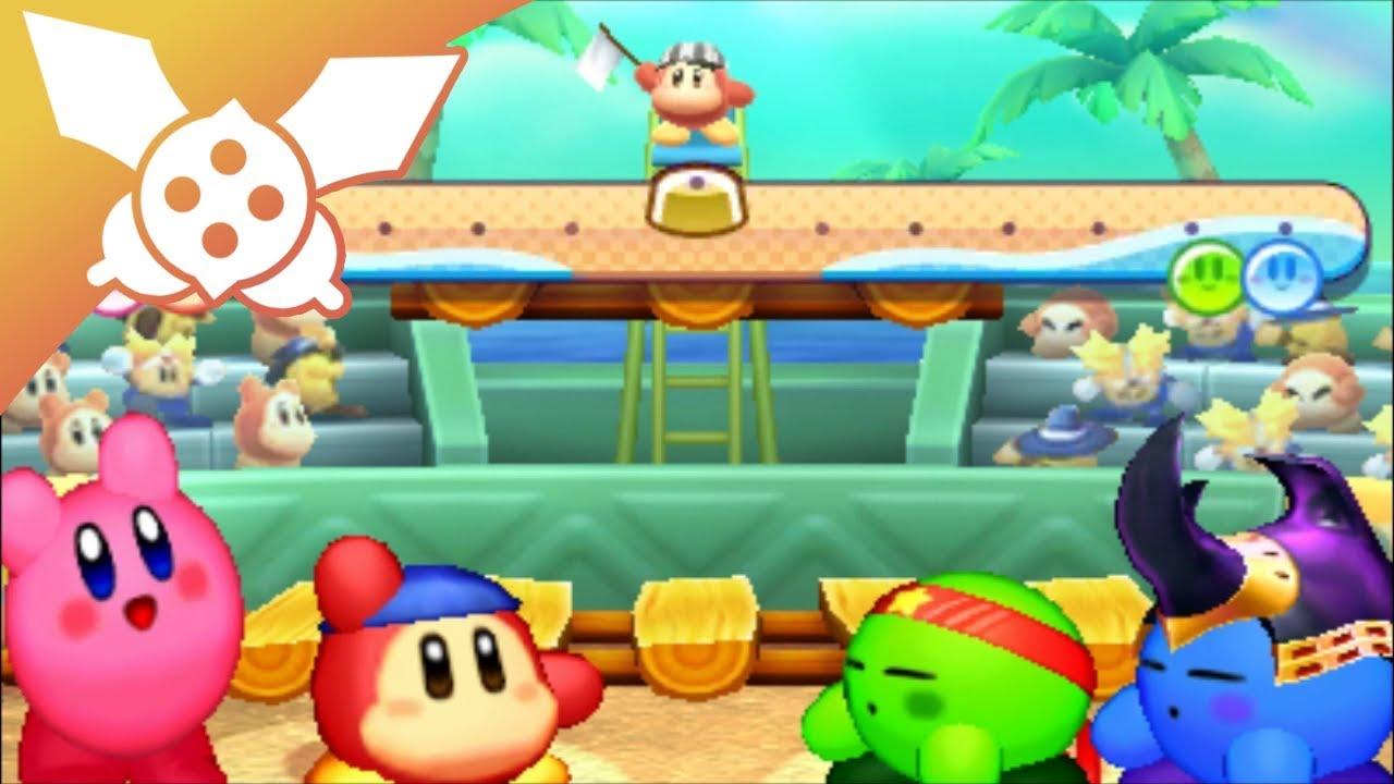 [LP] Kirby: Battle Royale #07 : Volley-ball et petit train ...