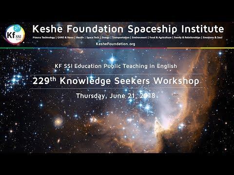 229th Knowledge Seekers Workshop June 21, 2018