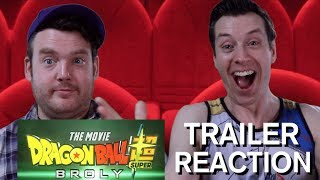 Dragonball Super - Broly - Trailer Reaction